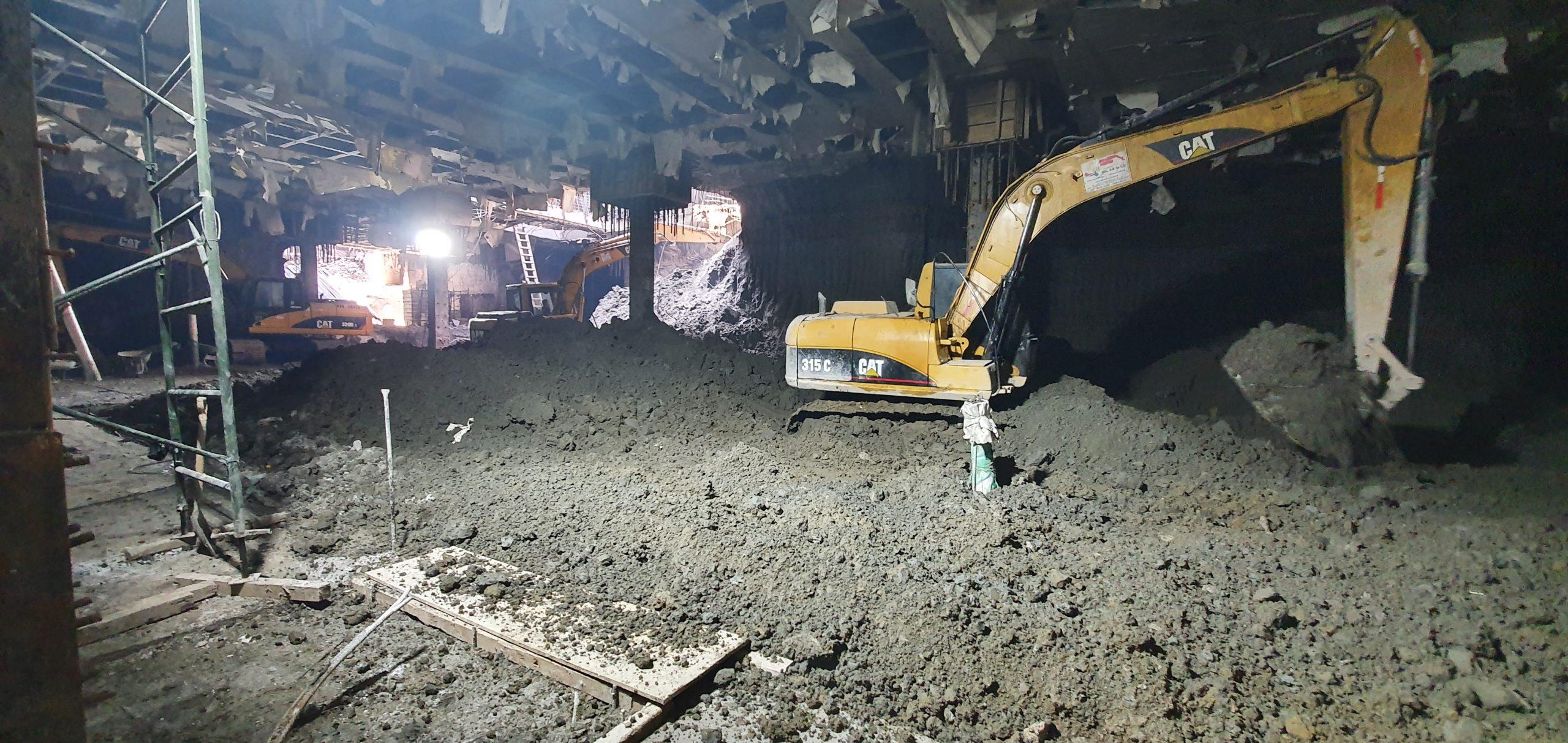 Subexcavación 8