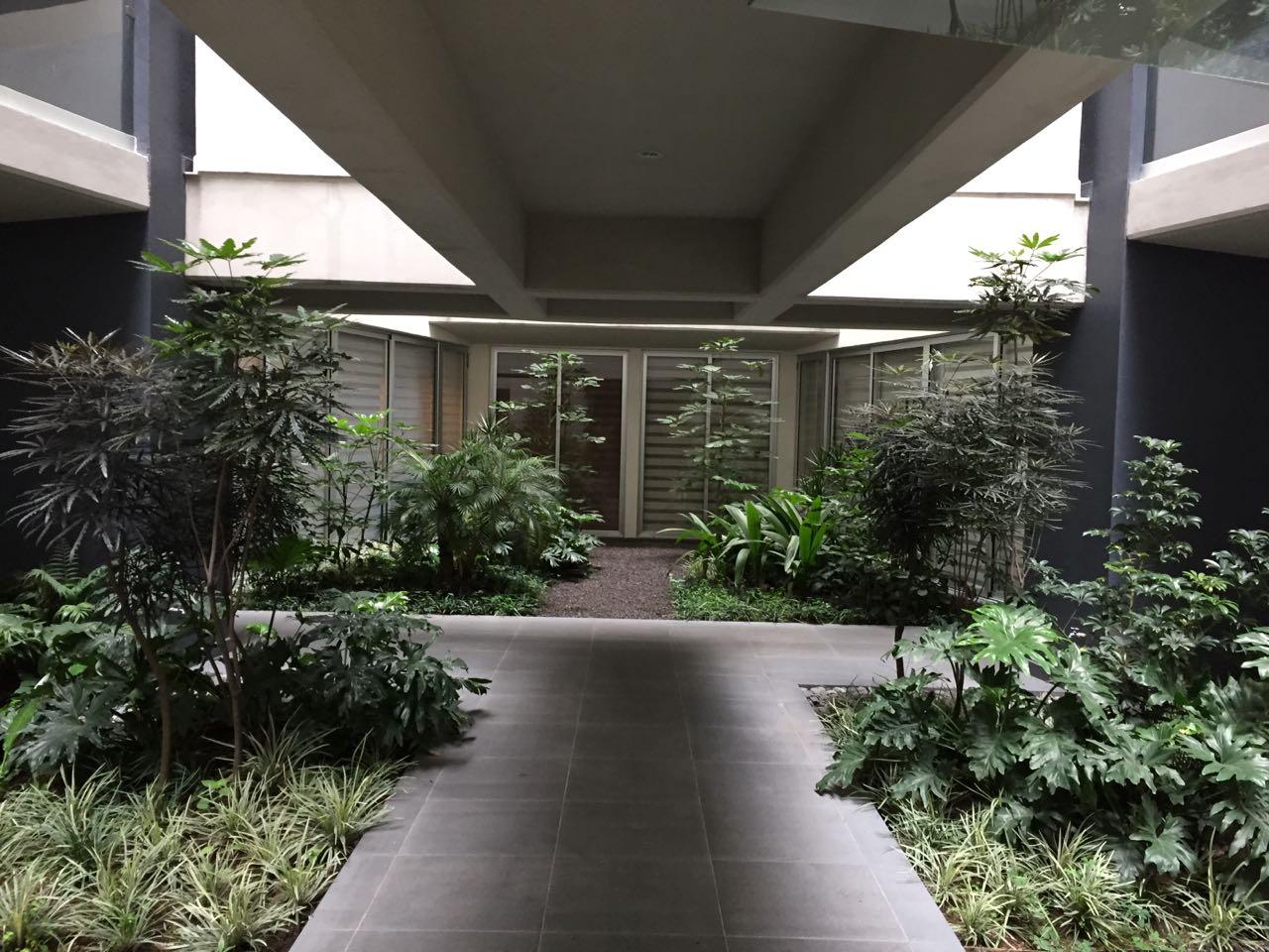 Edificio de vivienda interior