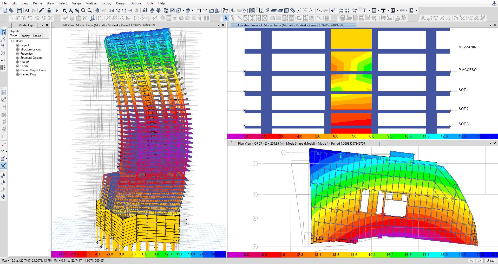 Modelo en computadora García Jarque Ingenieros